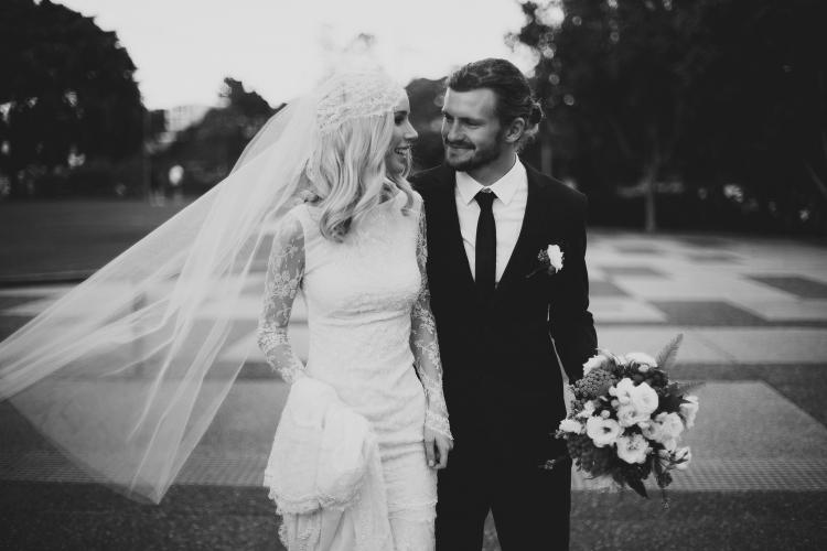 Brady & Gabriel's Breathtaking Wedding by Bek Grace Photography!