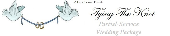 partial service wedding planning package