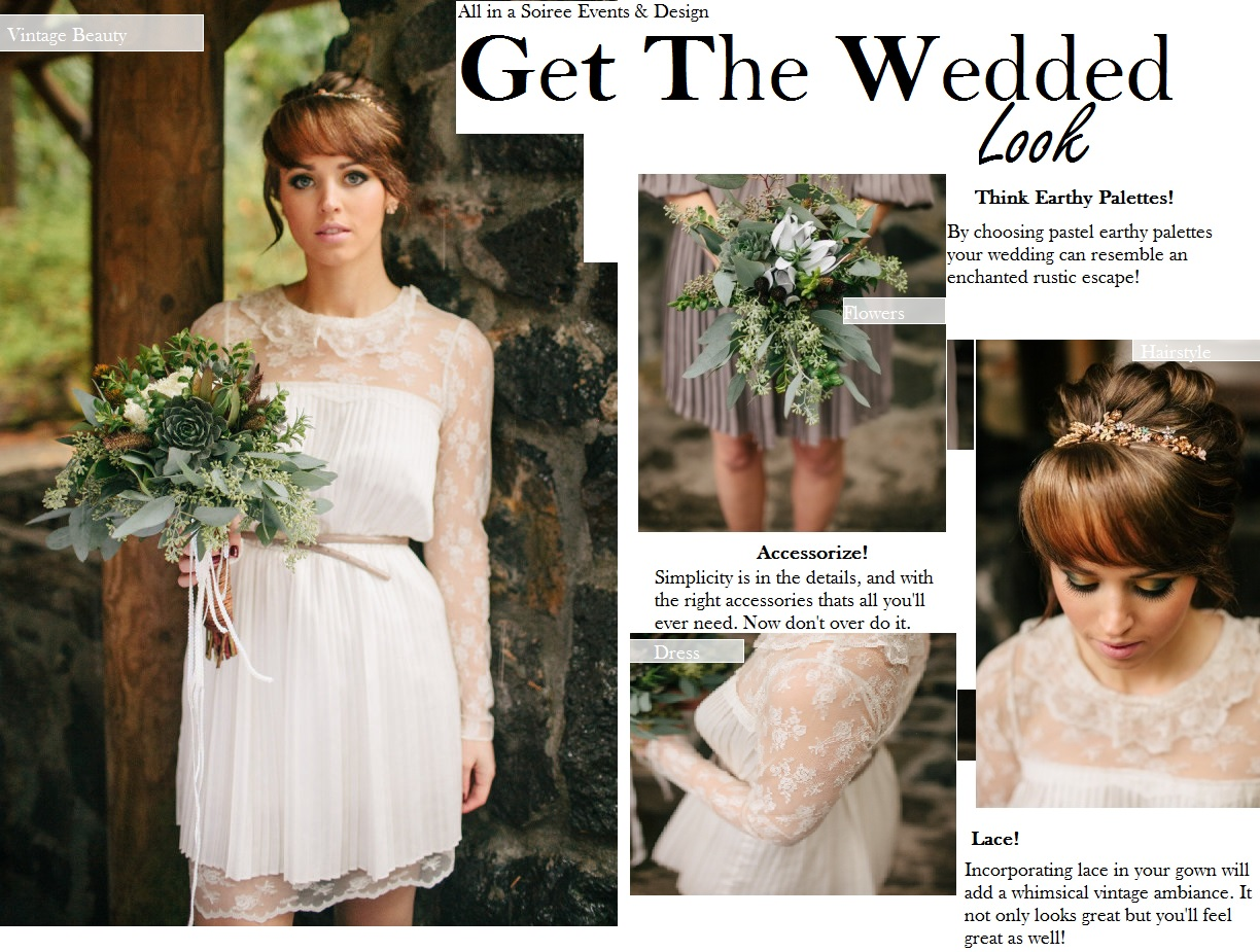 Get The Wedded Look: Vintage Beauty