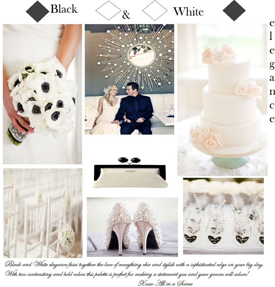 Black and White Inspiration Board