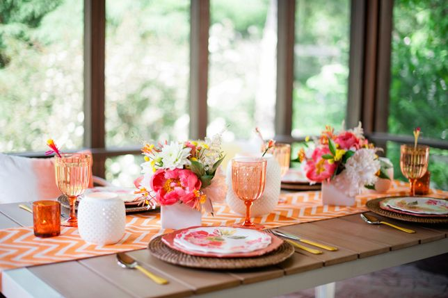 How to create beautiful table settings! - Rustic Folk Weddings
