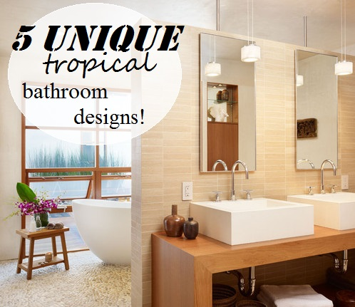 5 Unique Tropical Bathroom Designs Part 62