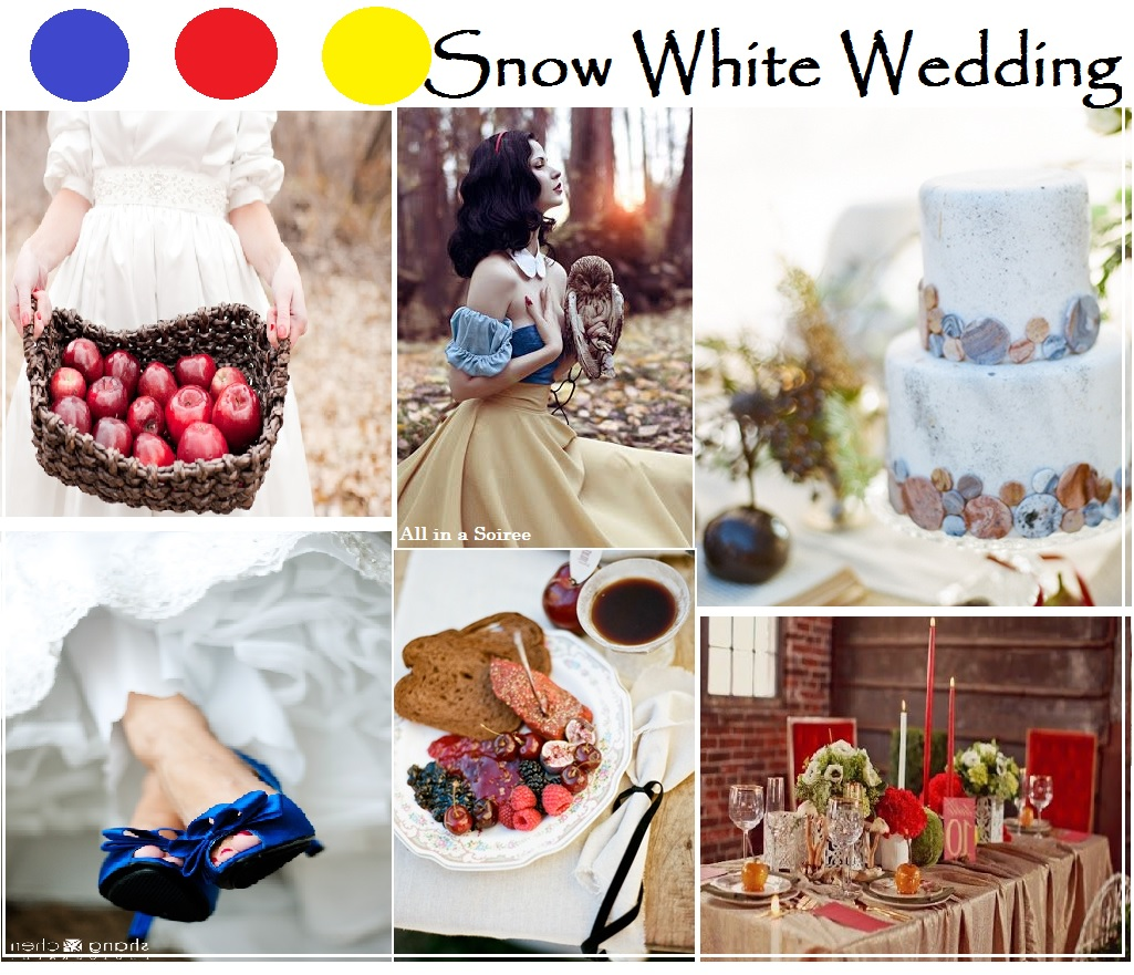 Disney princess weddings for All white wedding theme pictures