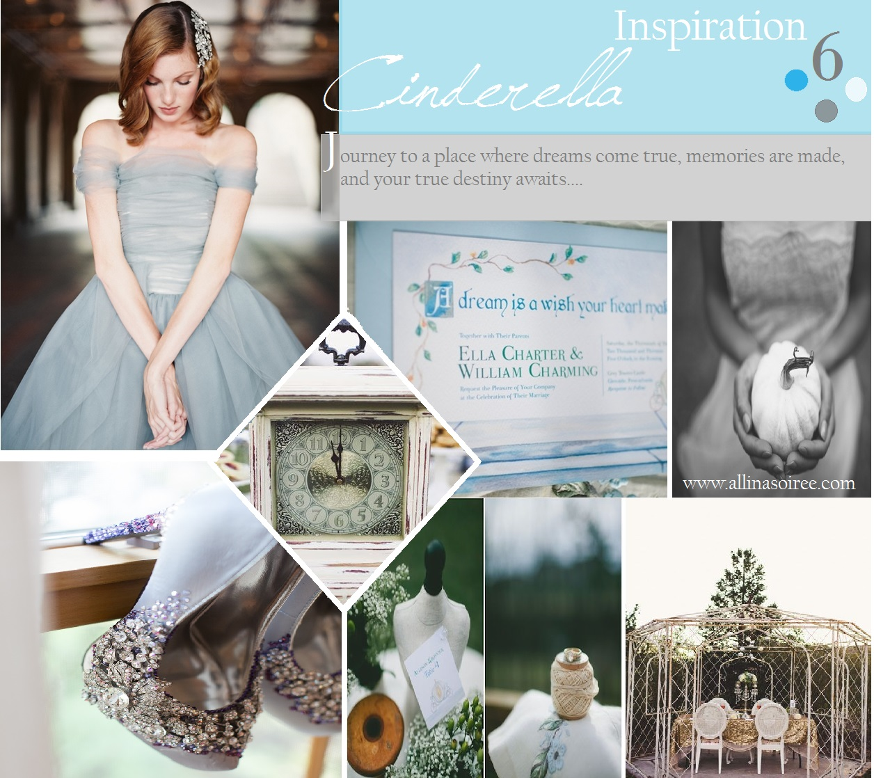 Monday Inspiration: Cinderella wedding ideas