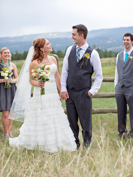 Chic Rustic Mountain Wedding captured by Bio Photography Studios