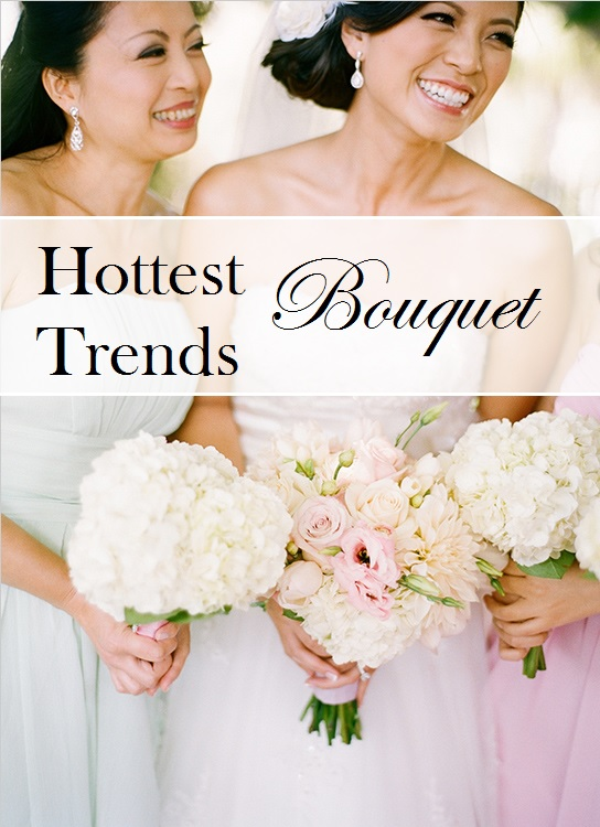 Wedding Report: 6 gorgeous bouquet trends!