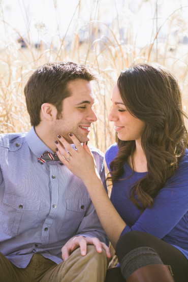 Colorful Rustic Engagement Session