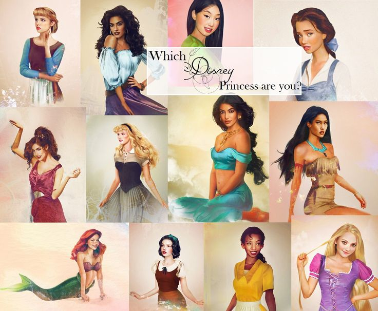 which Disney princess are you? www.allinasoiree.com