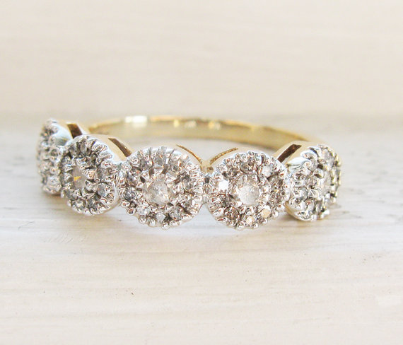 5 gorgeous vintage engagement rings!