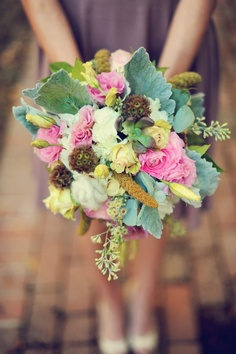 5 rustic wedding bouquets