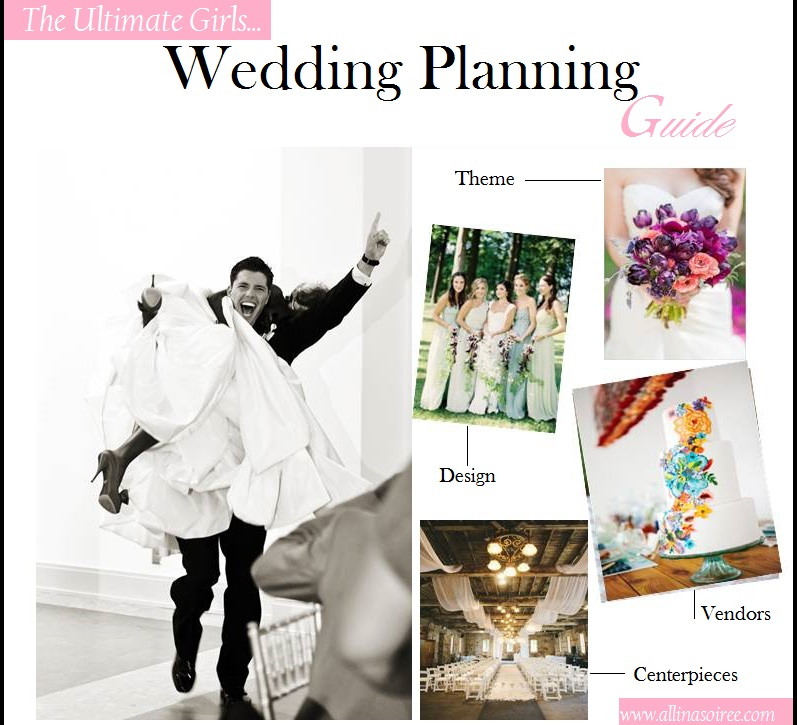 How To Plan Your Own Wedding The Ultimate Girls Wedding Planning