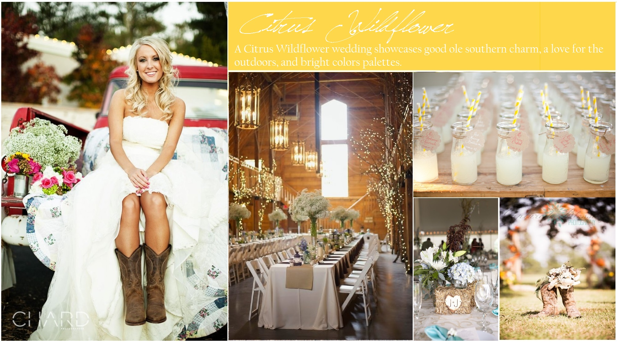 Content wedding color inspiration boards