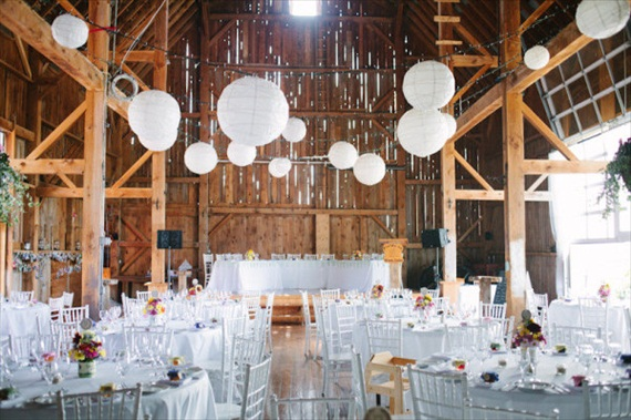 rustic wedding barn decor ideas