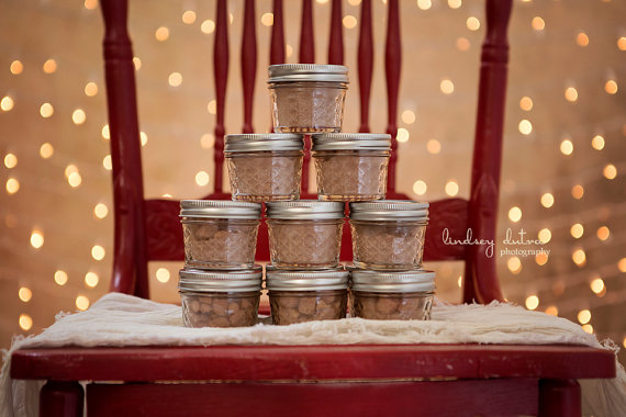 rustic wedding party favors