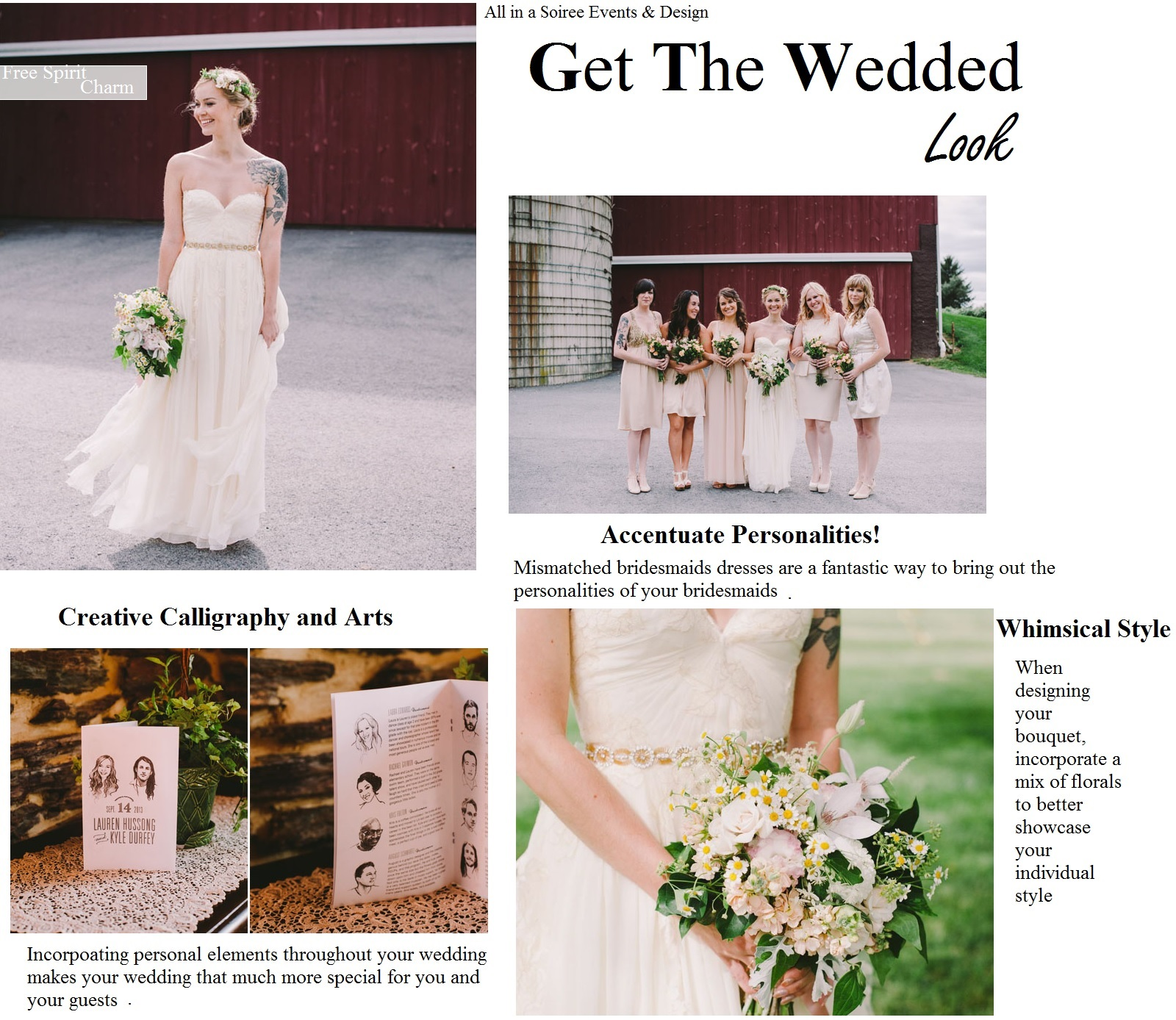 Get the Wedded Look: Free Spirit Wedding Style