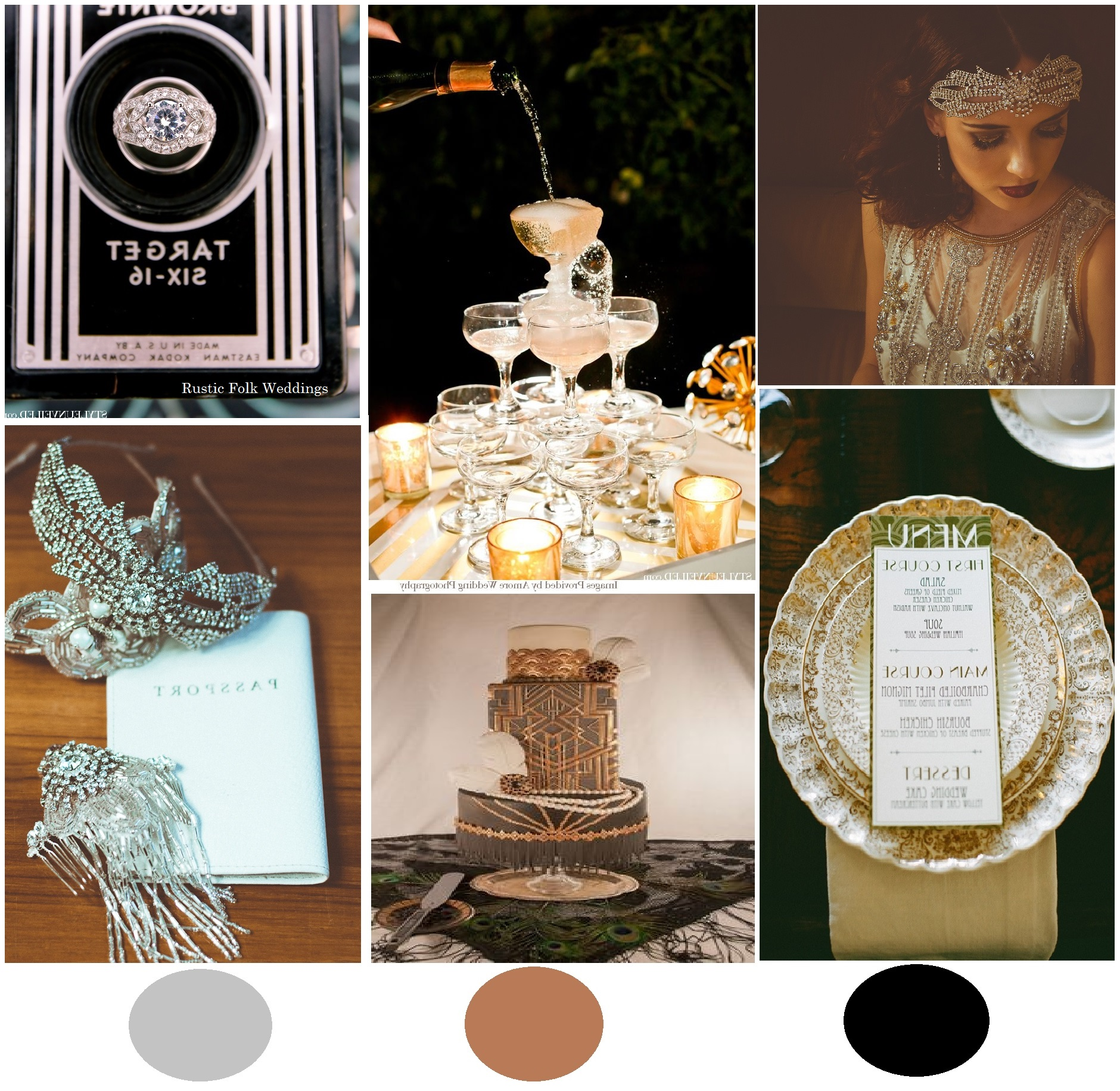 great gatsby inspiration board