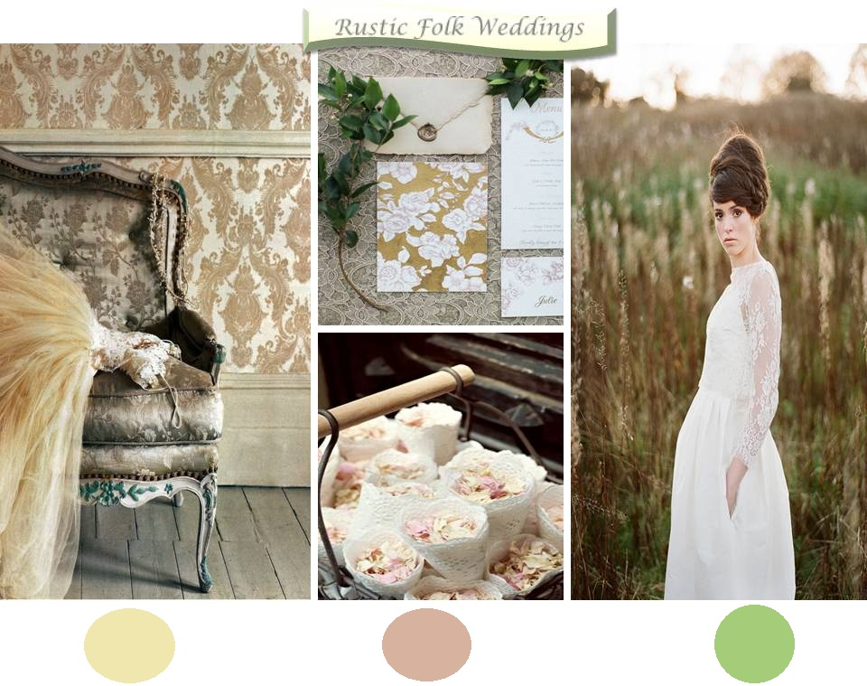 Rustic Folk Weddings Inspiration Board Format