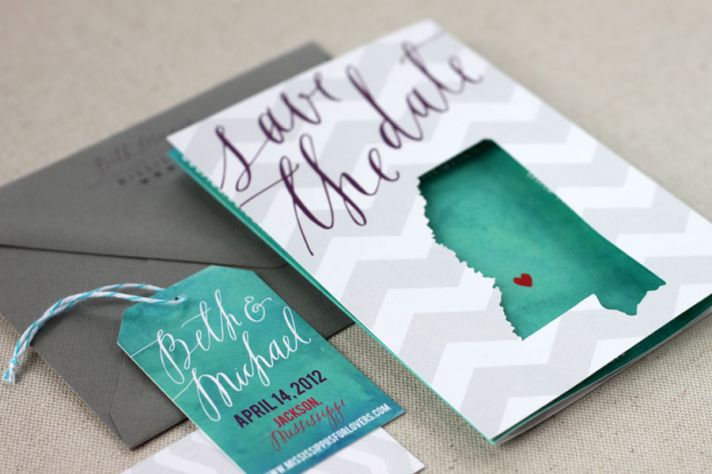 travel cutout save the dates