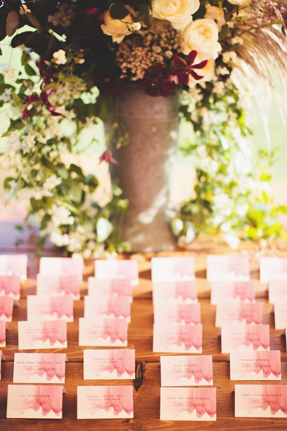 Wedding Color Trend: Watercolors