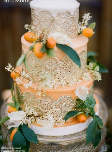 10 gorgeous wedding cakes