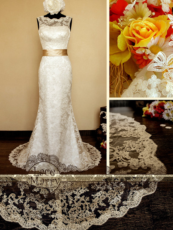 lace marry wedding gowns