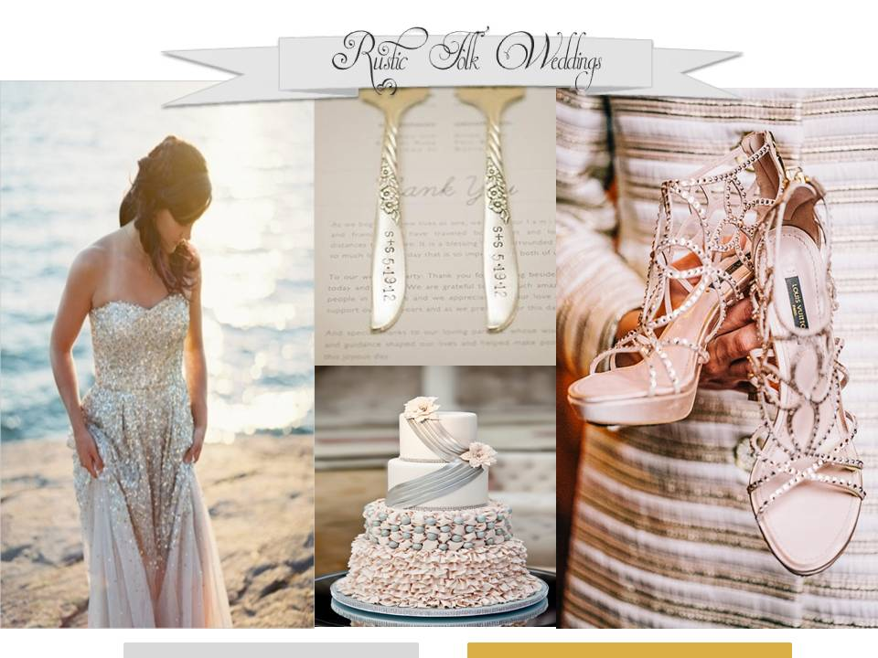 Shimmery Metallics Wedding Inspiration