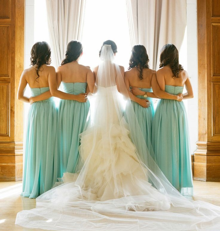 teal wedding1