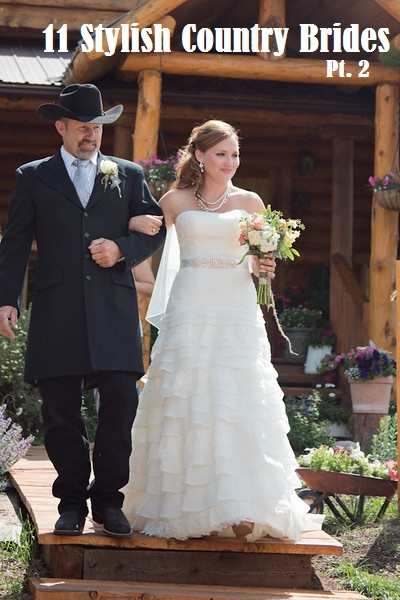 11 Stylish Country Brides Part 2