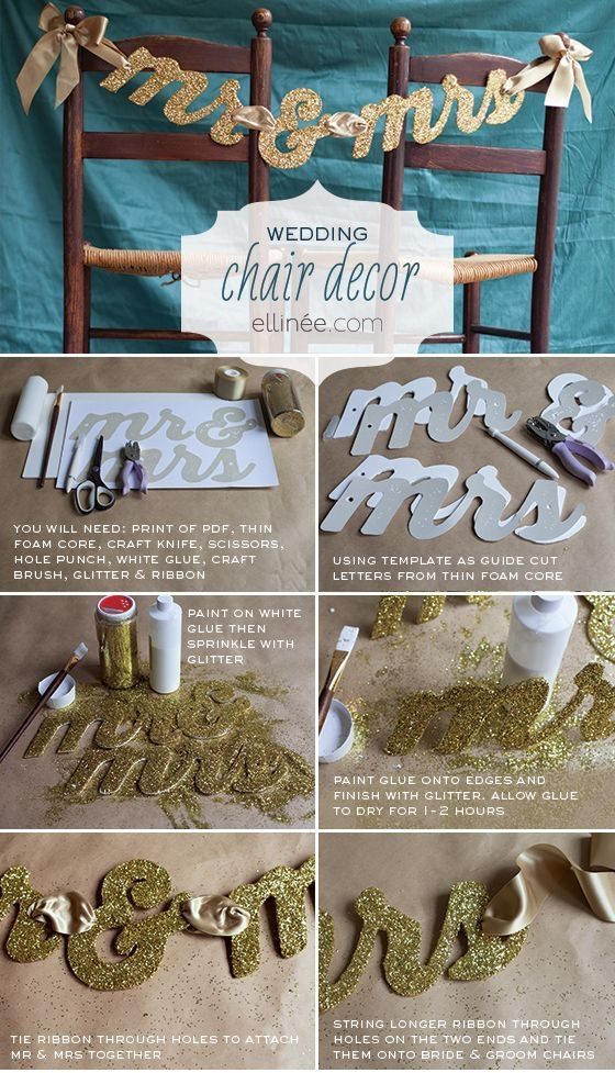 5 Cute DIY Wedding Ideas