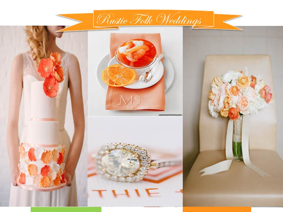 Citrus Crush Wedding Inspiration Board
