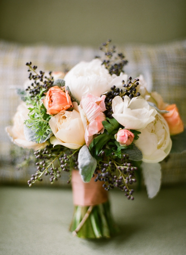 Finding the right flowers for your wedding bouquet - Flowers good luck bridal bouquet ...