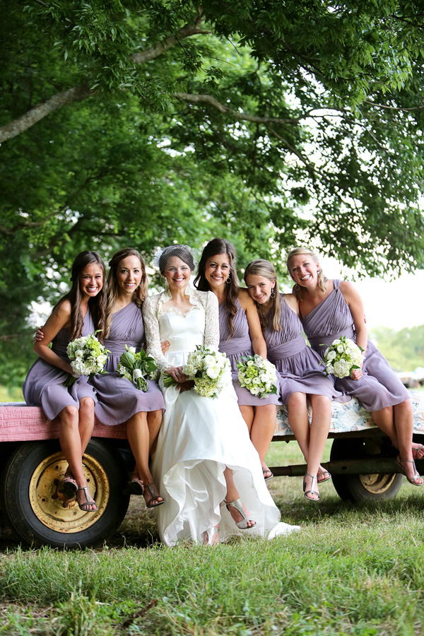 southern-wedding-purple-bridesmaid-dresses