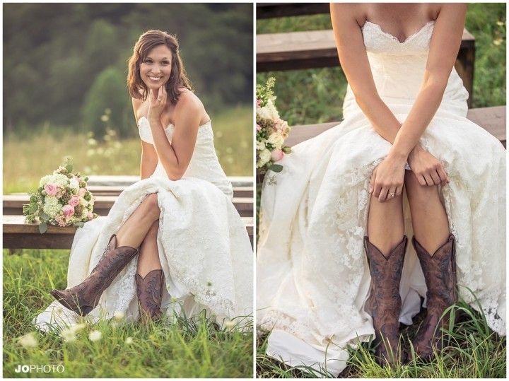 stylish country brides