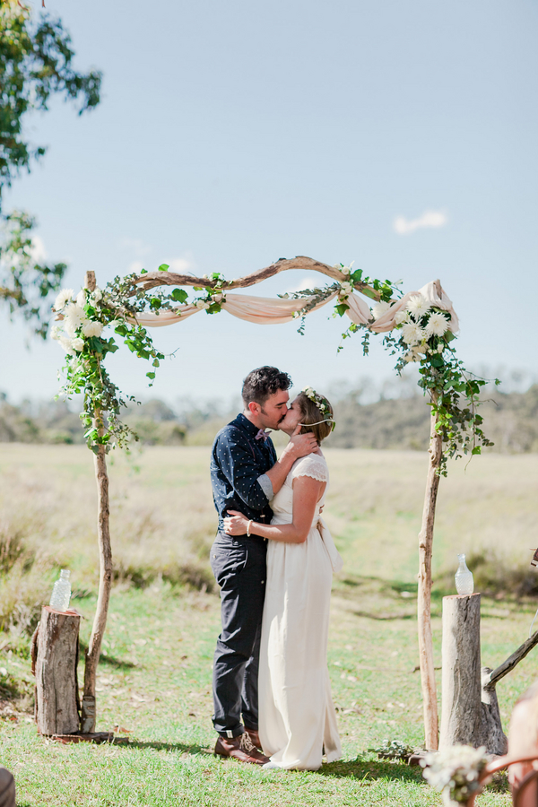Australian Camp Wedding Rustic Folk Weddings