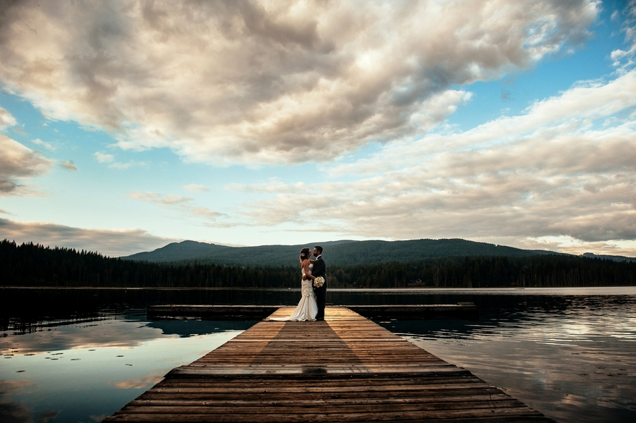 Fall Country Wedding at Whonnock Lake l Will Pursell Photography