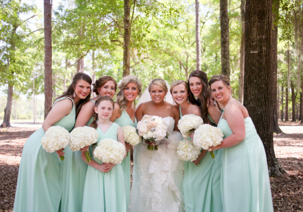 Rustic Mint Southern Wedding