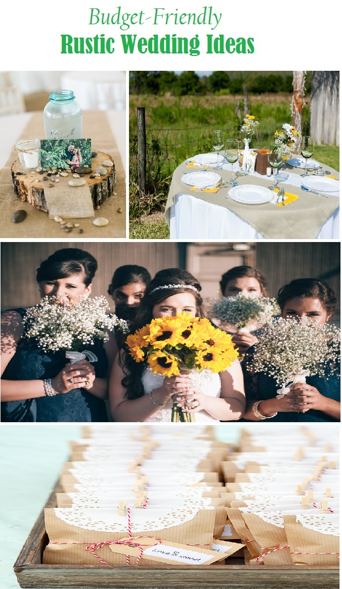 Budget Friendly Rustic Wedding ideas - Rustic Folk Weddings
