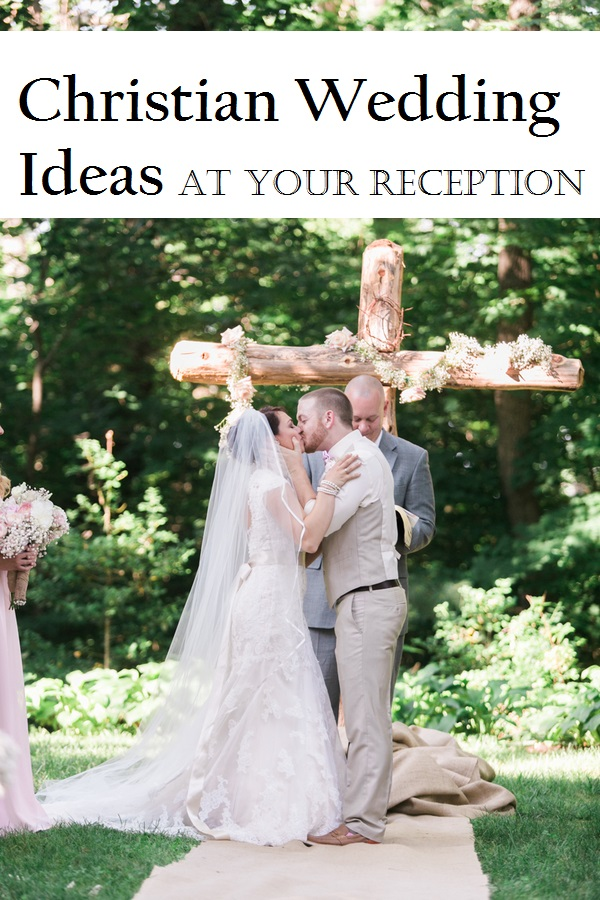 christian wedding ideas at your reception