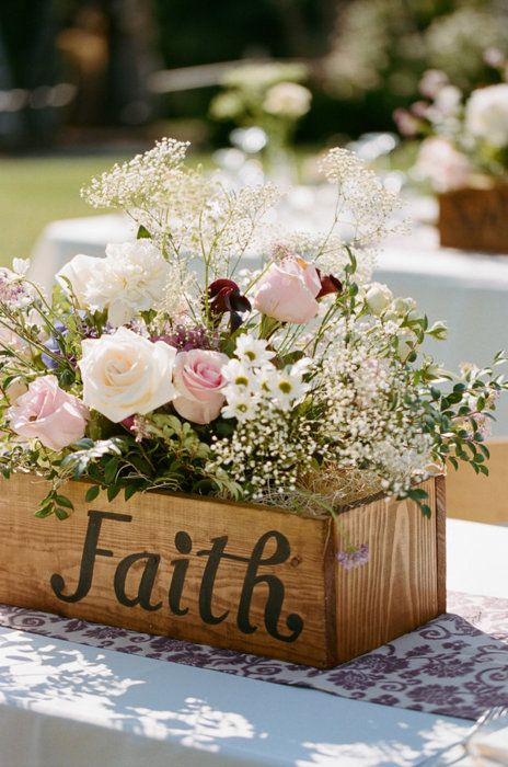 faith christian wedding ideas