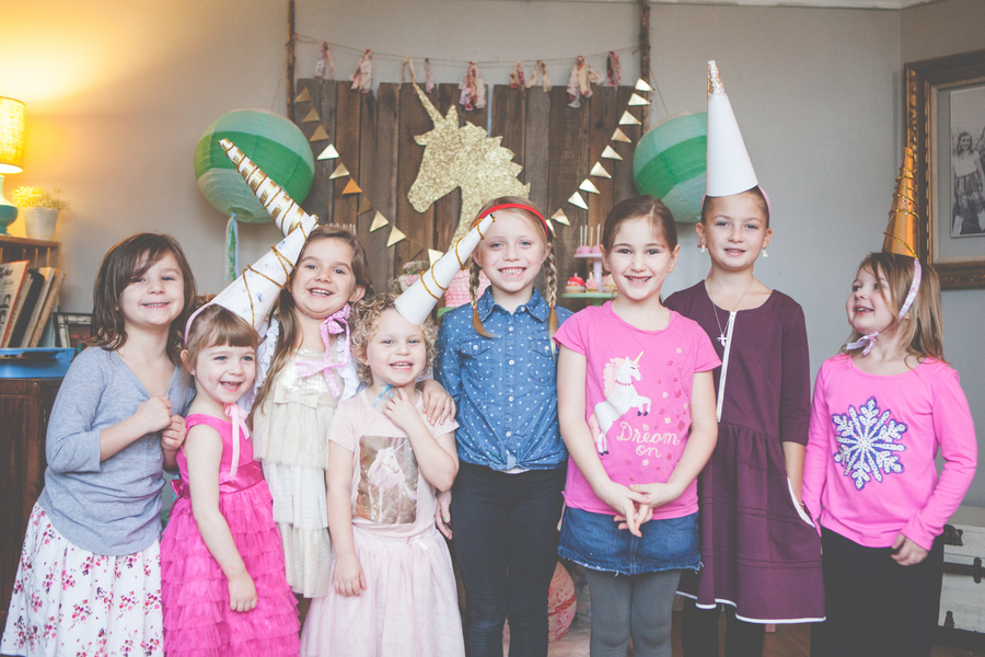 kids vintage birthday party