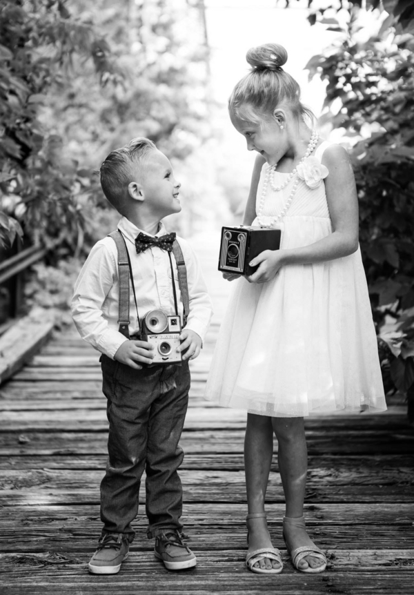 Vintage Styled Brother Amp Sister Session Rustic Folk Weddings