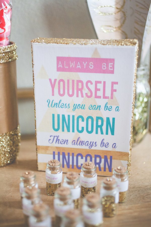 unicorn vintage birthday party