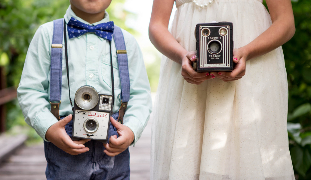 vintage brother and sister session