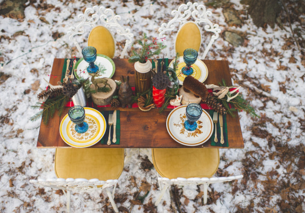 Rustic Winter Elopement