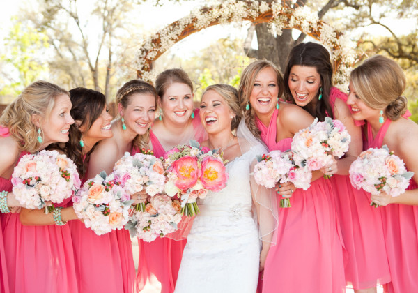 Pink Springtime Wedding