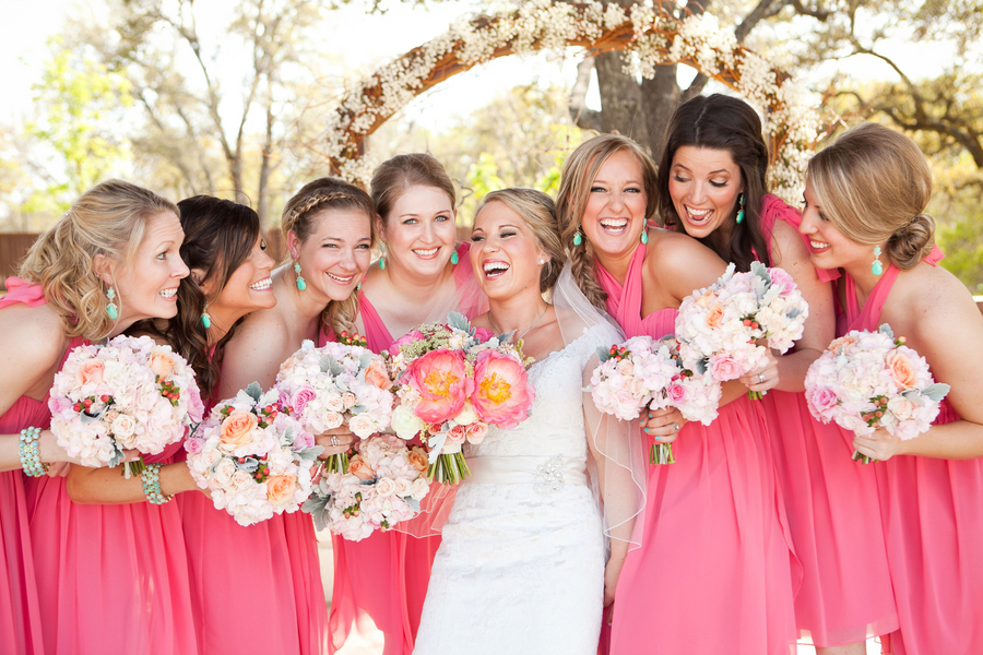 Pink Springtime Wedding - Rustic Folk Weddings