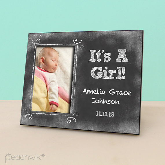 custom baby picture frames