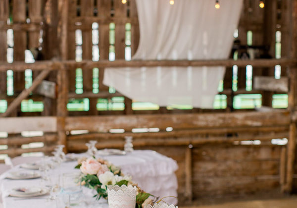 Glam Barn Wedding