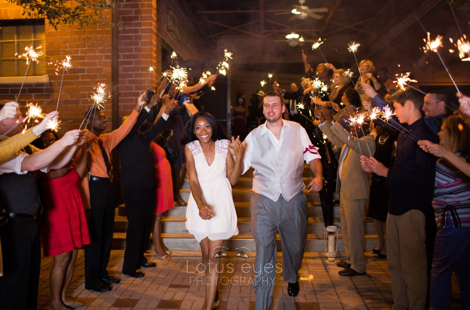 Pamela And Eric S Rustic Winter Park Farmers Market Wedding