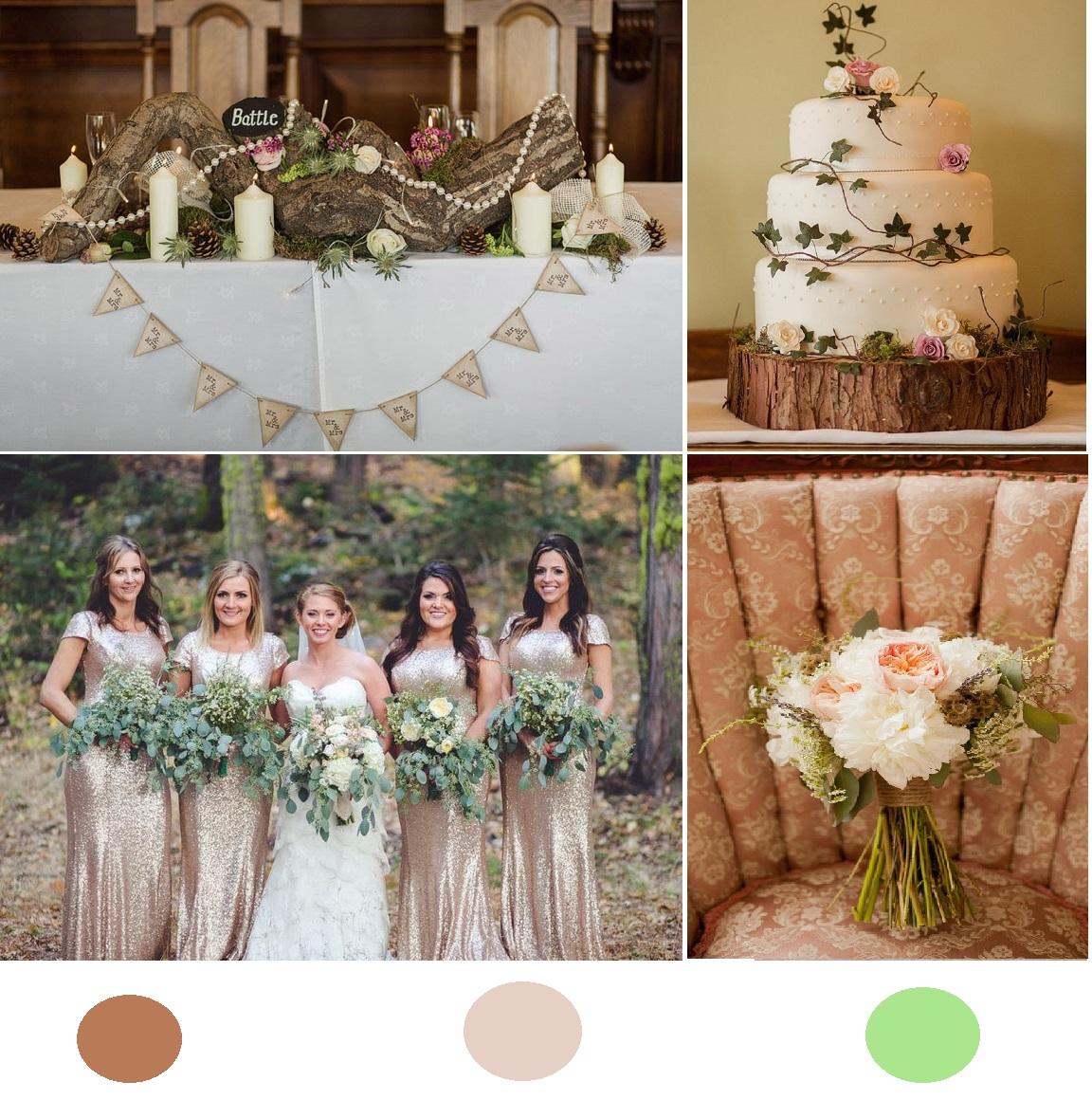 5 Bohemian Home Decor Ideas Rustic Folk Weddings: Woodland Rustic Wedding